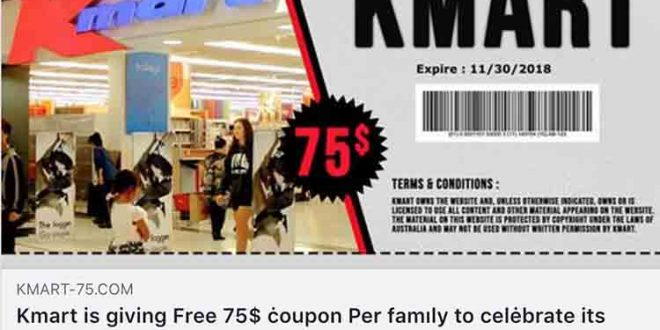coupon kmart australia
