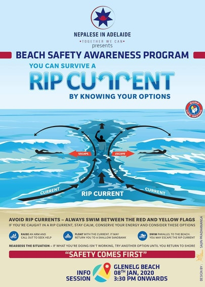 Beach safety workshop for Nepalese living in Adelaide - NepaliPage