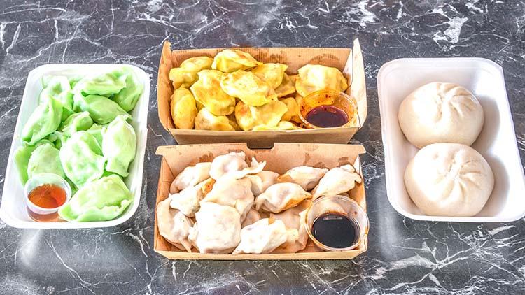 $5 for 15 pieces Chicken, Pork or Vege Dumplings at Dumpling Hut in Kogarah - NepaliPage