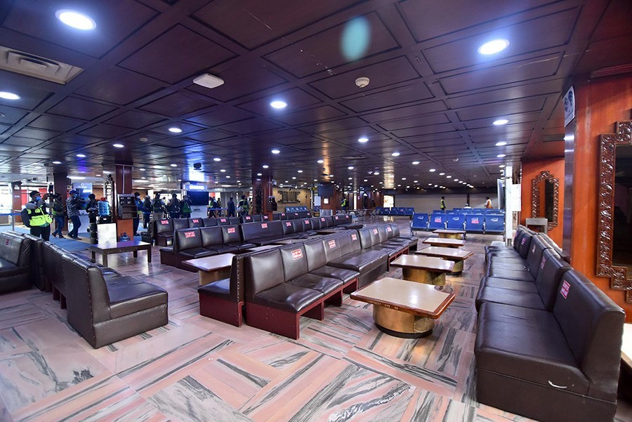 Kathmandu Airport renovated with social distancing measures - NepaliPage